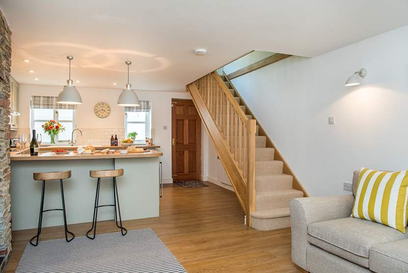 Forge Cottage has been beautifully renovated and is stylishly furnished throughout.