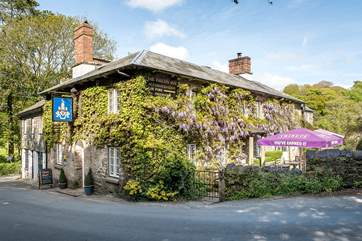 The popular village pub where you can enjoy meals inside or in their lovely garden.