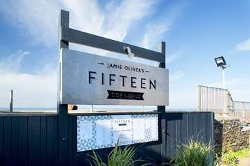 Jamie Oliver's Fifteen Cornwall is only short distance away at Watergate Bay.