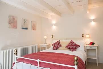 The double bedroom (bedroom 1) on the ground floor - there is also a shower-room on the ground floor as well.