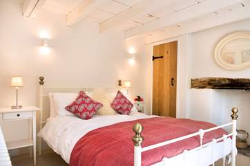 The cottage has three beautifully furnished bedrooms.