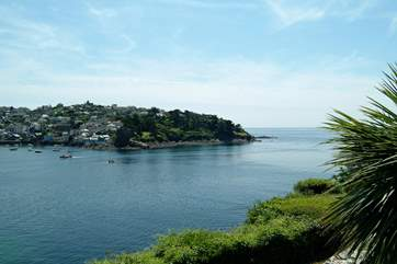 At the mouth of the river, trendy Fowey sits on one side and pretty Polruan on the other - you can take a ferry across from one to the other.