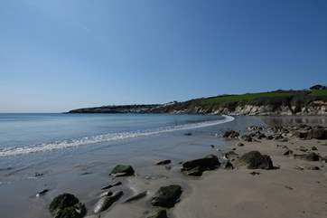 Walk across the cliffs to Portscatho.