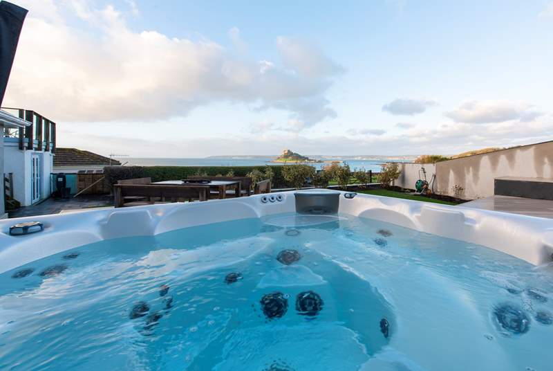 Your hot tub with a view.