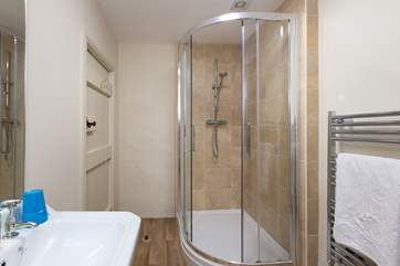 There are two shower-rooms for use by guests sleeping in Bedrooms 2 and 3. These two shower-rooms link together, useful for a family stay, but also have doors to the landing.