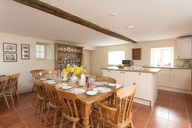 There is a wonderful farmhouse-style kitchen, with all brand new appliances and fittings following an extensive renovation programme throughout the property.