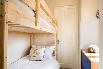 The children will love the bunk-beds in Bedroom 4.