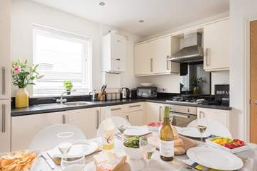 The kitchen/diner has everything you need to rustle up a scrummy dinner.