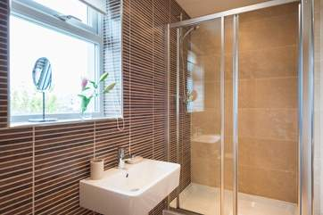 The en suite shower-room, leads off from the master bedroom.