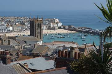 St Ives really is a short walk away.