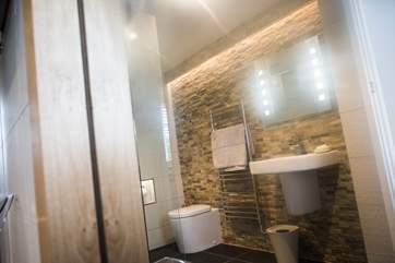 The stylish shower-room.