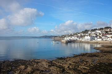Pretty St Mawes can be found on the Roseland or hop on a ferry from Falmouth.