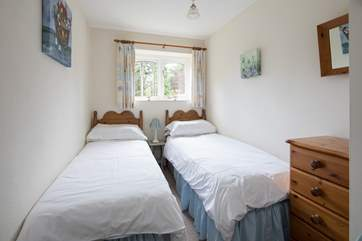The twin room is perfect for children; however adults have also enjoyed a great night's sleep in this room.