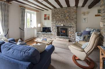 Cosy and inviting living-room.