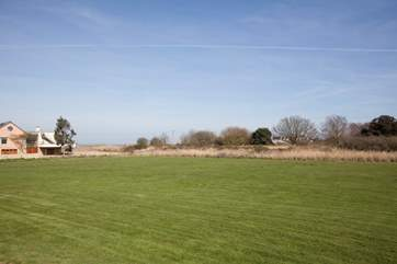 The communal grounds at Tollgate cottages are open for all to use