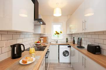 The property has recently been refurbished and has a new fitted kitchen