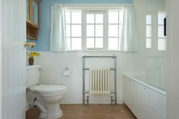 The en suite bathroom for the master bedroom.