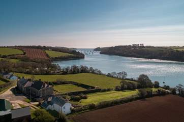 Explore The Helford from this tranquil spot, perhaps you will find a hidden beach.