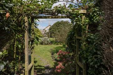 Even the walled garden has great character and is beautifully stocked and maintained.