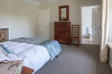 Bedroom 2 is at the back of the house, it has a super comfy five-foot bed and en suite shower-room.