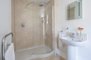 The en suite shower-room for bedroom 2.