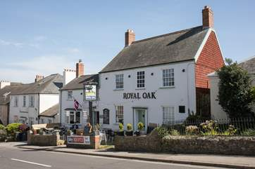 A five minute stroll takes you to The Royal Oak in the village, a good traditional pub.