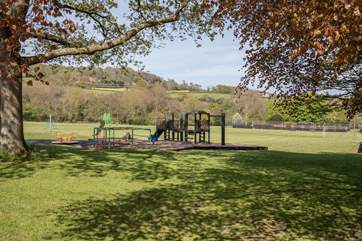 This play park is a five minute walk from your holiday home, with great views of the surrounding countryside.