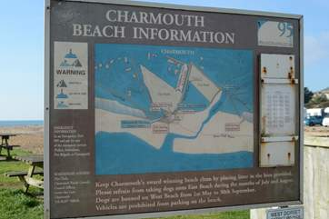 A 10 minute walk will take you to Charmouth Beach, where you may well find a fossil or two, on this part of the World Heritage Jurassic Coast.