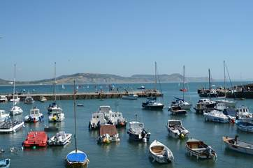 Lyme Regis with its iconic Cobb is still a working fishing port and so much more.