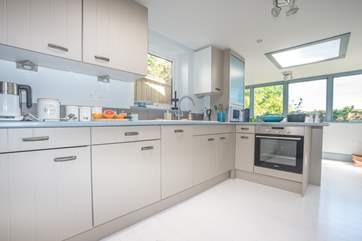 This is the beautiful well equipped kitchen