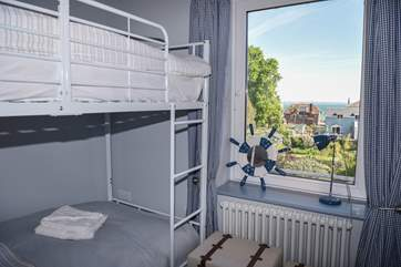 The bunk-beds will be a hit with the little ones