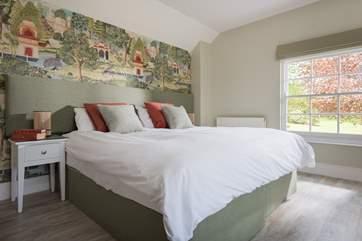 The Garden Bedroom (Bedroom 3).