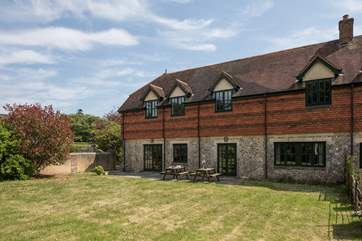 This former stable has been sensitively restored by the current owners.