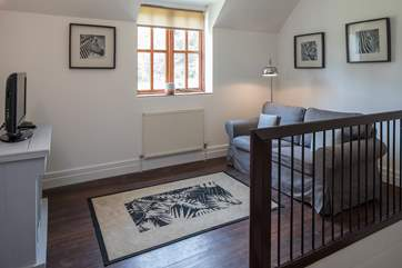 This tranquil spot on the first floor landing is ideal for a quiet read, or to catch up with your favourite TV show.