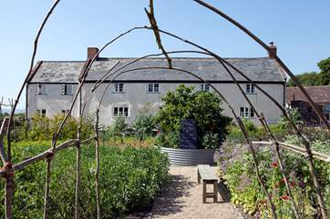 You will pass River Cottage HQ on your journey to Hobnob, why not enrol for a cookery course or book for a special meal?