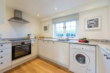 The lovely kitchen.