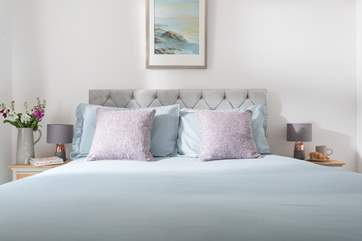 Relax in bed at Wheal Jane.