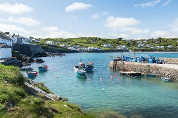 Explore Coverack with its pretty harbour.