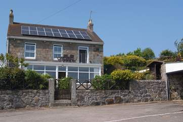 Moonbeam is a first floor apartment in this large detached house.