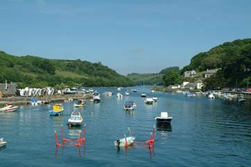 Enjoy a day at the harbourside town of Looe.