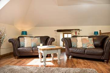 Plenty of room for you to chill out and relax (please mind your head on the sloping roof).
