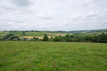 You are welcome to use the field behind Shepherd's Rest for a picnic or just to enjoy more spectacular views.