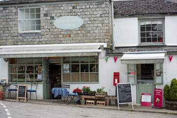 Just a short stroll will bring you into the village of Lerryn itself with a traditional village store.