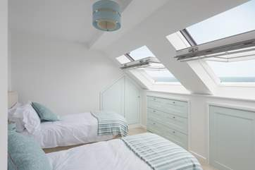 This bedroom can be twin beds or a king-size bed (Bedroom 3).