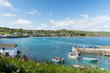 Pretty Coverack is only a short stroll away, not too far to get the daily ice cream.