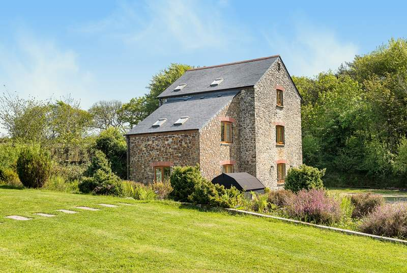 Moreton Mill is located in a magical setting.