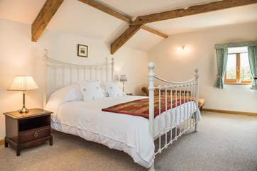 Moreton Mill has three beautifully appointed bedrooms.