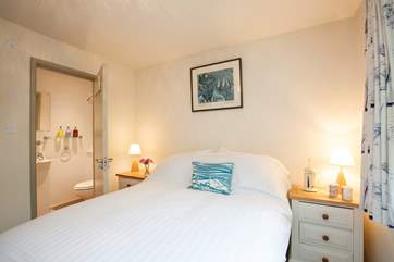 The master bedroom has an en suite shower making this an ideal property for couples as well as families