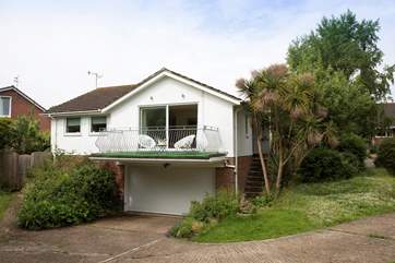 In a secluded plot within a few minutes walk of Seagrove Bay