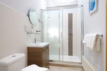 The en suite shower-room for Bedroom 1.